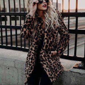 KITTY | Leopard Faux Fur